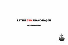 LETTRE D'UN FRANC-MAÇON