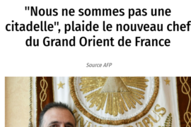 "GRAND MAITRE DU GODF : ""REPRENDRE LES TRAVAUX"" – LE POINT"