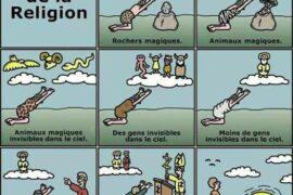 HUMOUR EN IMAGE : HISTOIRE DE LA RELIGION