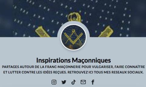 """""""INSPIRATIONS MAÇONNIQUES"""" SUR INSTAGRAM & TIKTOK"""
