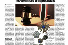 """""""VENTE D'OBJETS NAZI"""" – LE LANCEUR D'ALERTE EST FRANC-MAÇON"""