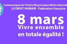 DROIT HUMAIN – JOURNÉE INTERNATIONALE DES DROITS DE LA FEMME