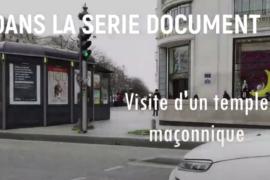 VISITE DU TEMPLE MAÇONNIQUE DU DROIT HUMAIN A PARIS