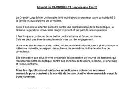 GLMU : Attentat de RAMBOUILLET : encore une fois !!!