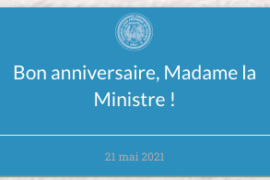 "GLFF ""Bon anniversaire, Madame la Ministre !"""