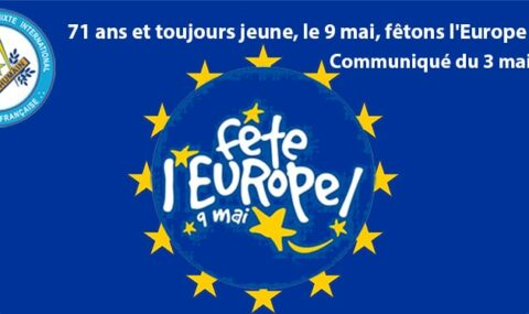 DROIT HUMAIN : LE 9 MAI FETONS  l'EUROPE