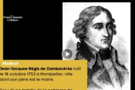 FRANCS-MACONS CELEBRES / QUI ETAIT CAMBACERES ?