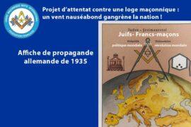 DROIT HUMAIN : Projet d'attentat contre une loge maçonnique : un vent nauséabond gangrène la nation