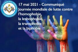 DROIT HUMAIN – JOURNÉE MONDIALE CONTRE L'HOMOPHOBIE