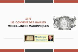 LE CONVENT DES GAULES
