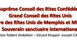 DÉCÈS DU GRAND HIEROPHANTE JOSPEH CASTELLI