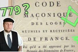 CODE MACONNIQUE DES LOGES REUNIES ET RECTIFIEES DE FRANCE DE 1779 – Hervé H Lecoq