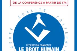 CENTENAIRE DE LA FEDERATION FRANCAISE LE DROIT HUMAIN
