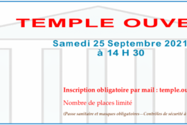 "OPERATION ""TEMPLE OUVERT"" – GRANDE LOGE FEMININE DE FRANCE"
