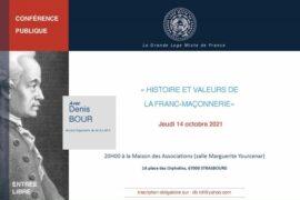 HISTOIRE ET VALEURS DE LA FRANC-MACONNERIE – GLMF